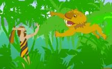 Caveman and Tiger