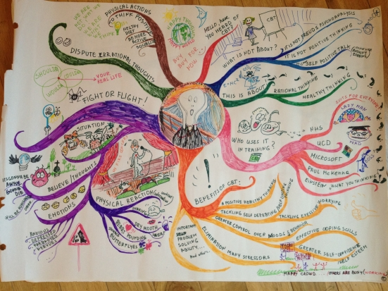 MindMap by trainees on the Northside Partnership 'Making Choices' Workshop, June '12.