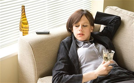 A scientific look at de-stressing/self medicating with alcohol (drinking at home): (2/6)