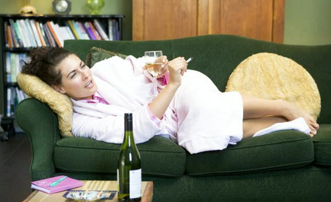 A scientific look at de-stressing/self medicating with alcohol (drinking at home): (5/6)