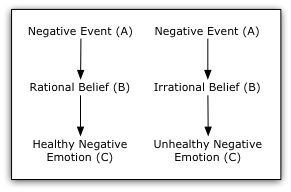 Apply the Albert Ellis '12 irrational beliefs and disputing ...