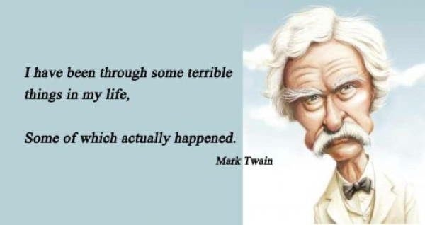 A CBT look at the provocative genius of Mark Twain in quotes: (4/6)