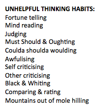 UNHELPFULTHINKINGHABITS