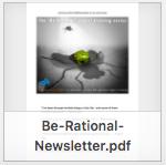 BeRational newsletter thumbnail