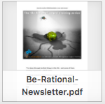 BeRational newsletter thumbnail