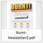 Burnt newsletter thumbnail