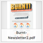 Burnt newsletter thumbnail