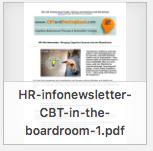 CBT in Boardroom newsletter thumbnail