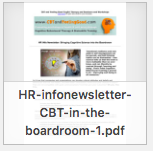 CBT in Boardroom newsletter thumbnail