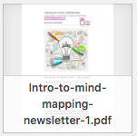 Intro to Mind Mapping newsletter thumbnail
