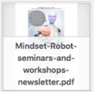 Mindset Robot newsletter thumbnail