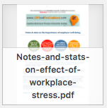 Notes Stats Stress worksplace newsletter thumbnail