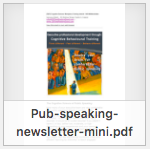PubSpeakingMini newsletter thumbnail