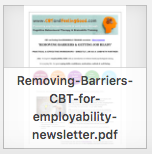 Removing Barriers newsletter thumbnail